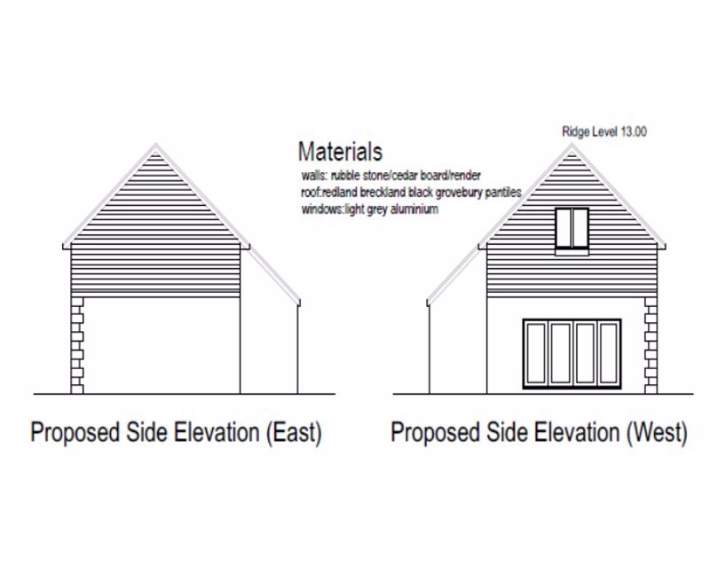 Proposed Side Elevations