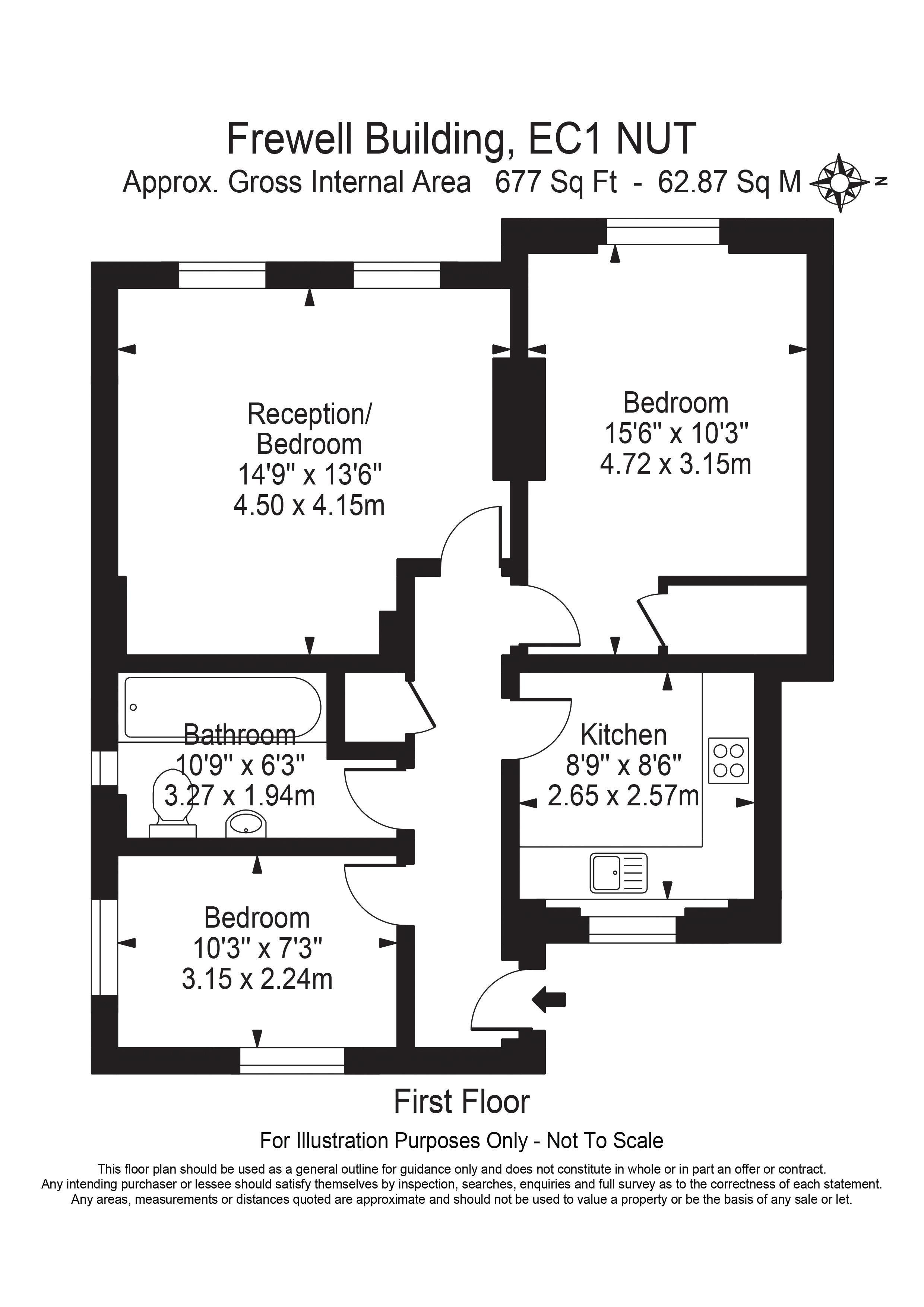 3 Freewell Buildings - Floorplan