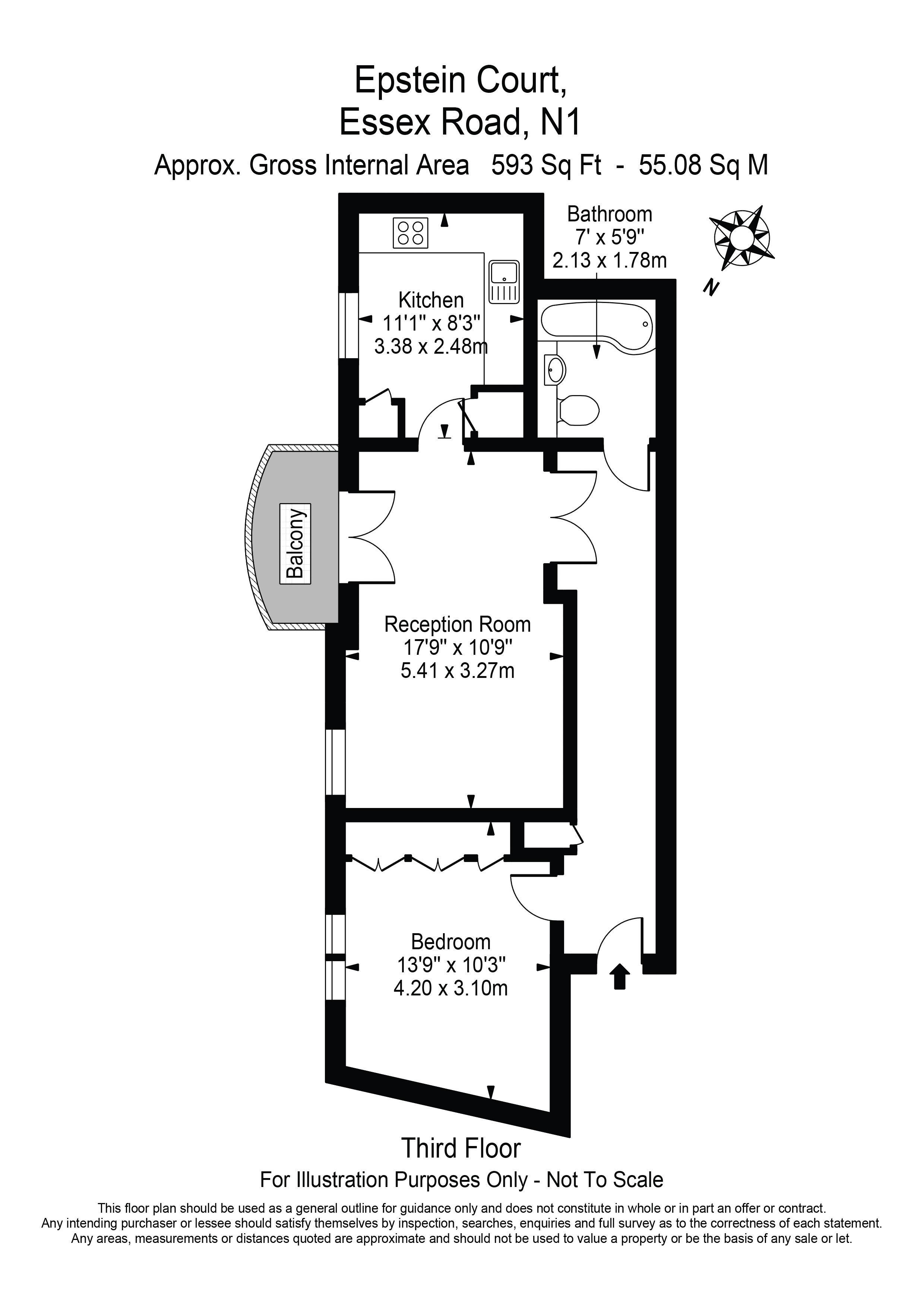 12, Epstein Court - Floorplan