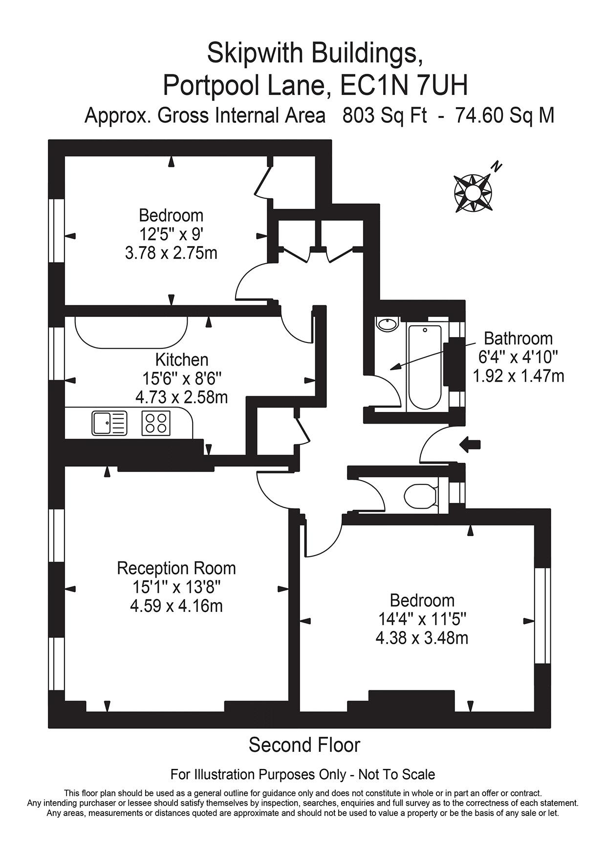 Floorplan - 25 Skipwith Building