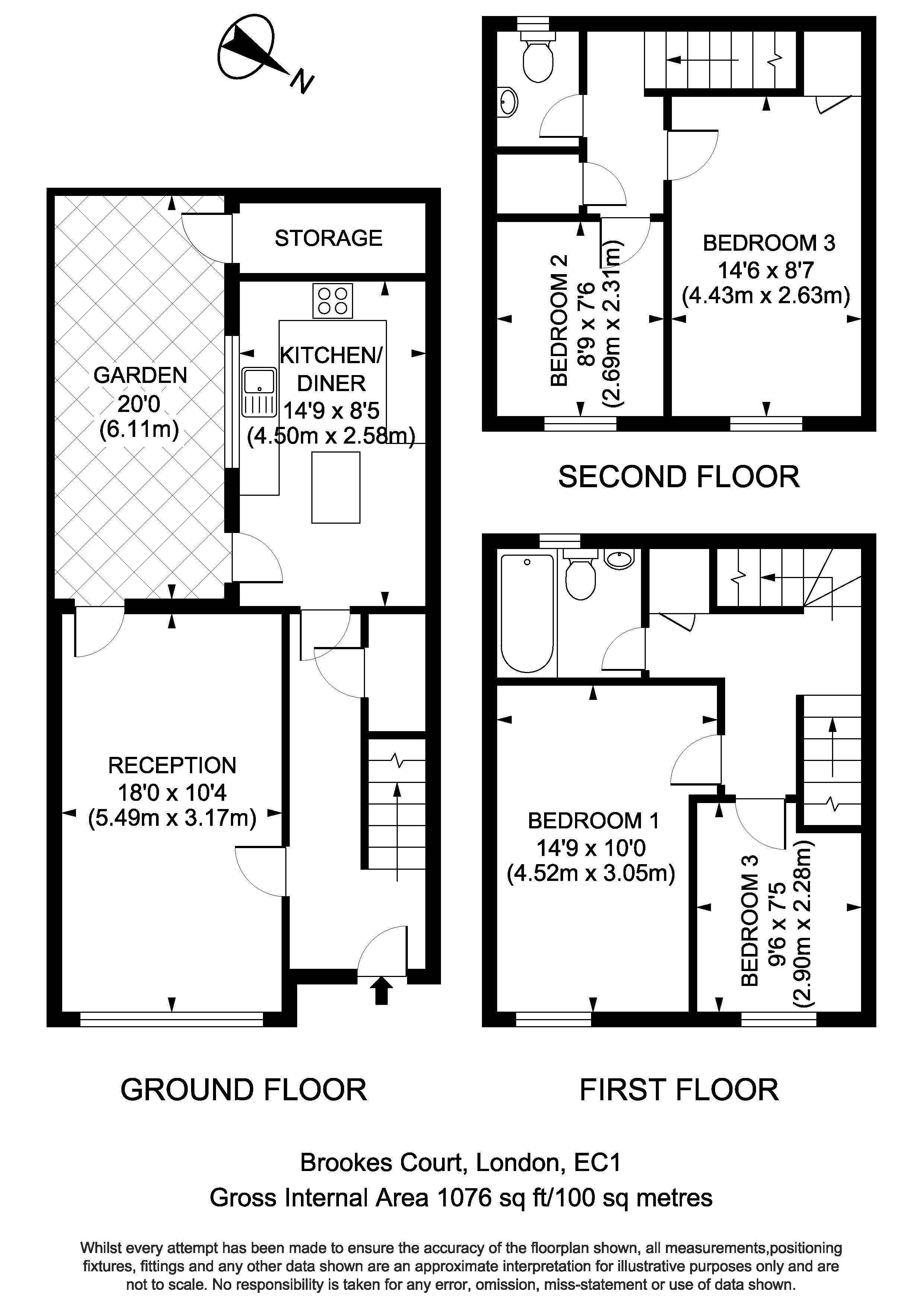 Floorplan - 3 Brookes Court