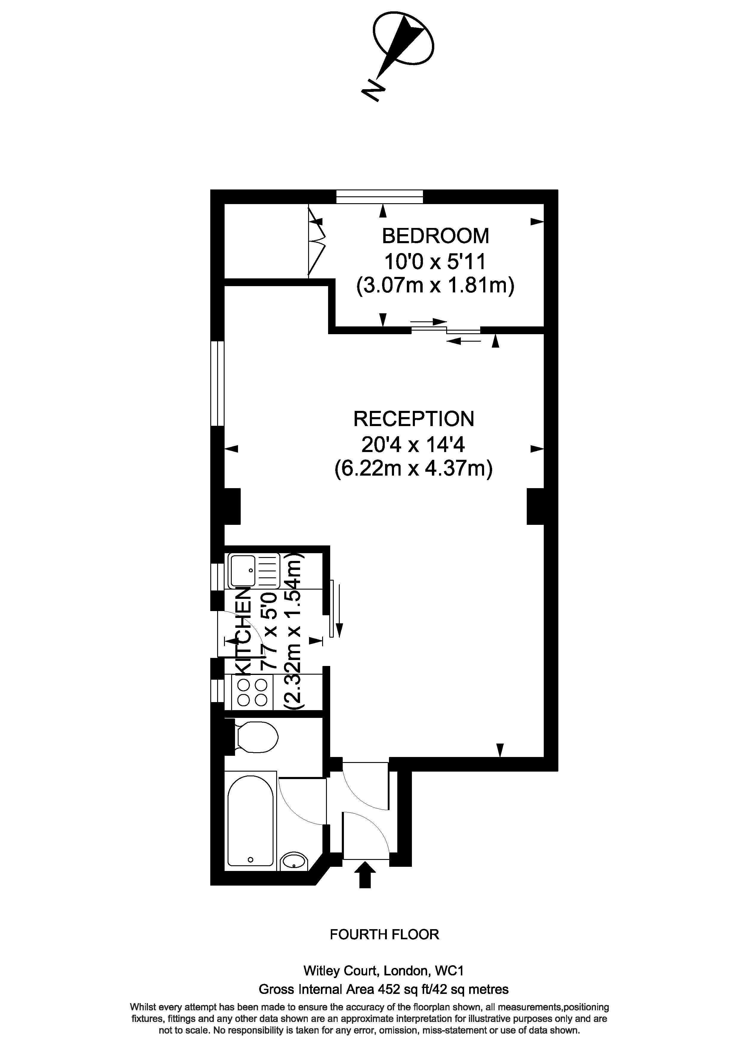 40 Witley Court - Floorplan