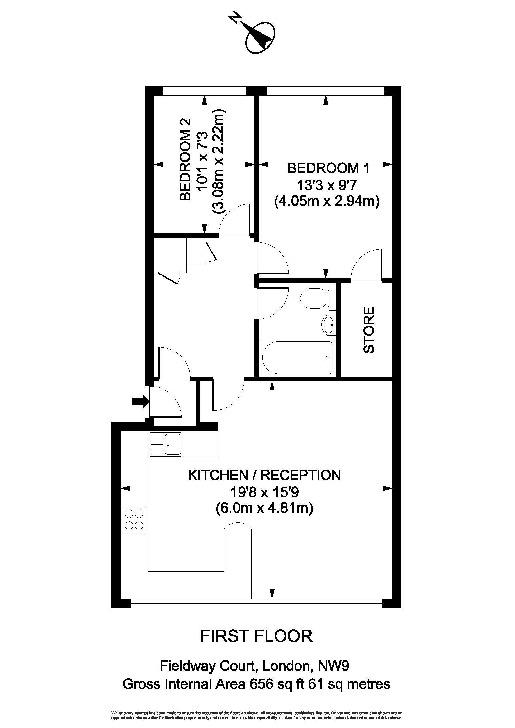 Floorplan - 3 Fieldview Court