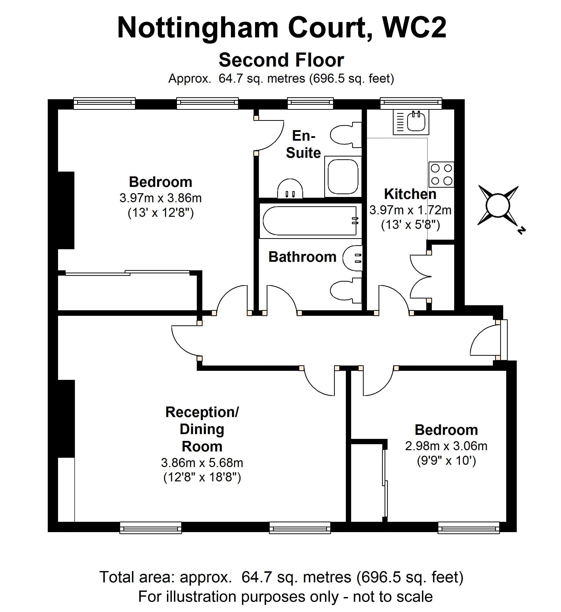 Floorplan - 4 Nottingham Court