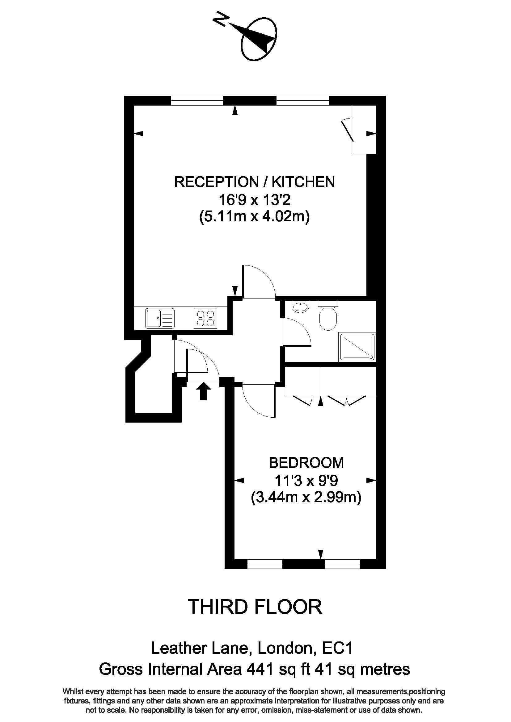 89C Leather Lane - Floorplan