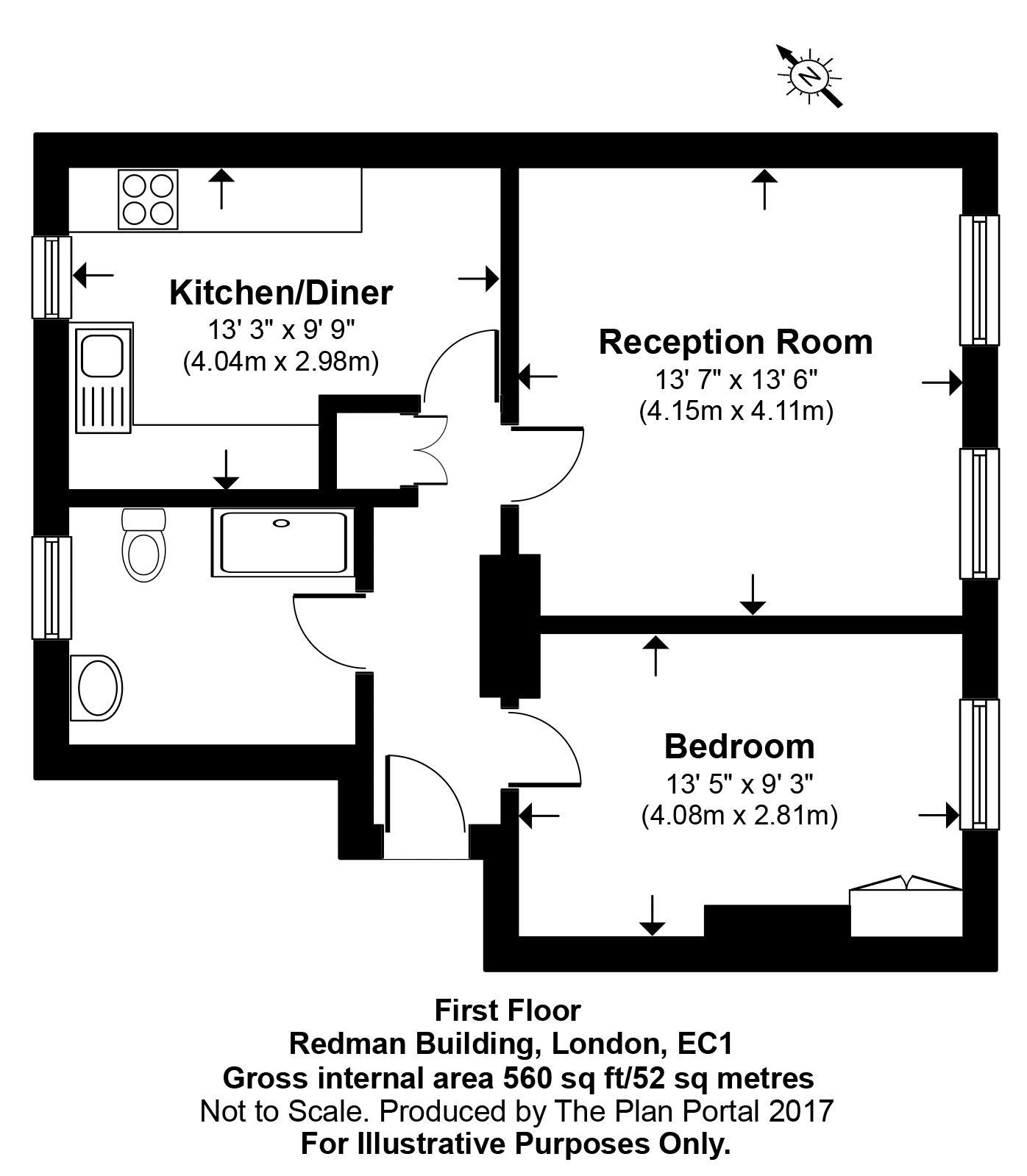 Floorplan - 50 Redman Building