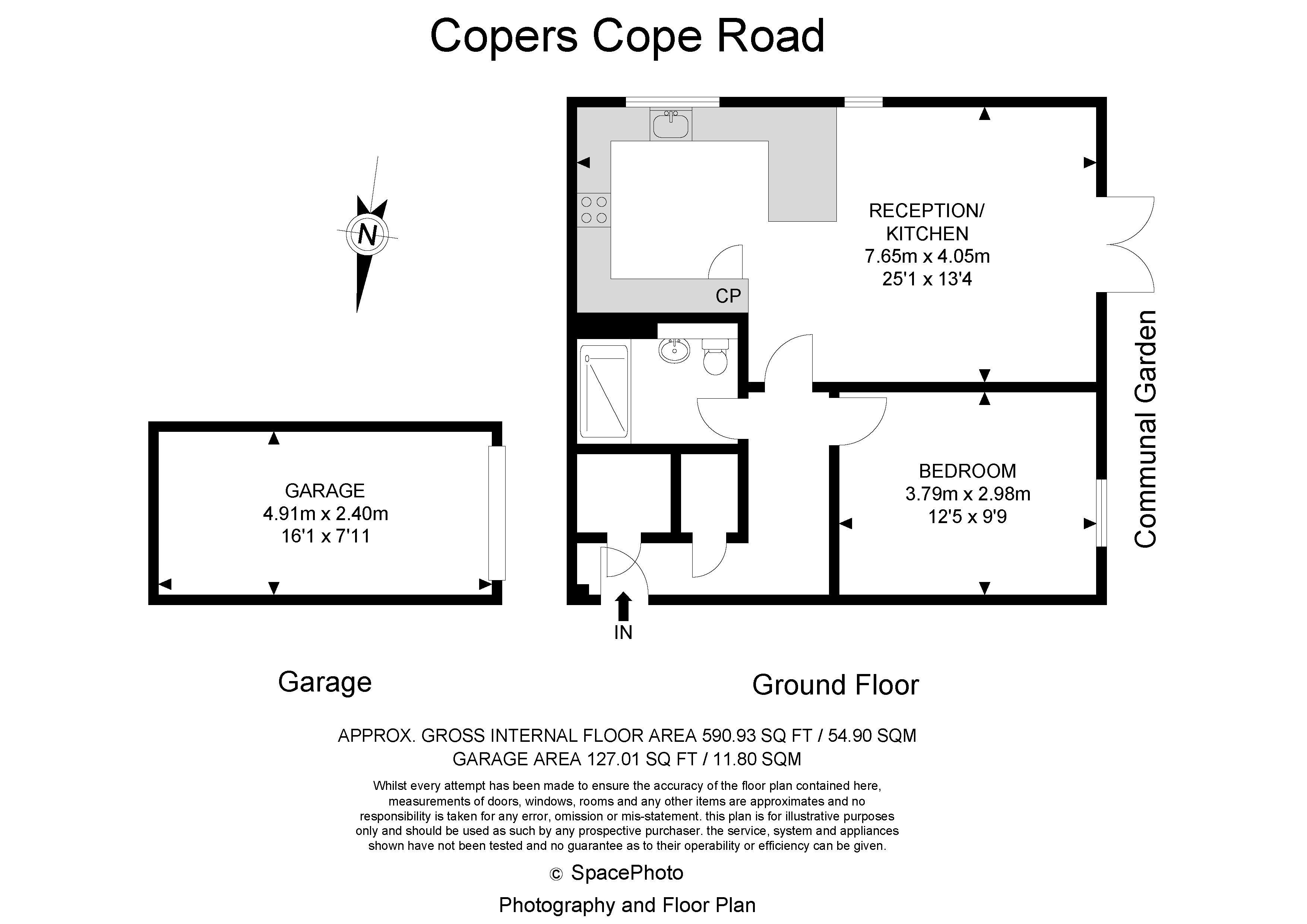 Copers Cope Road