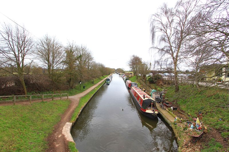 VIEW OF THE SHROPSHIRE UNION CANAL