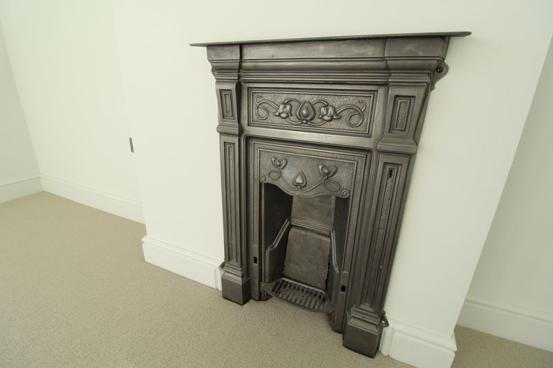 Bedroom One Fireplace
