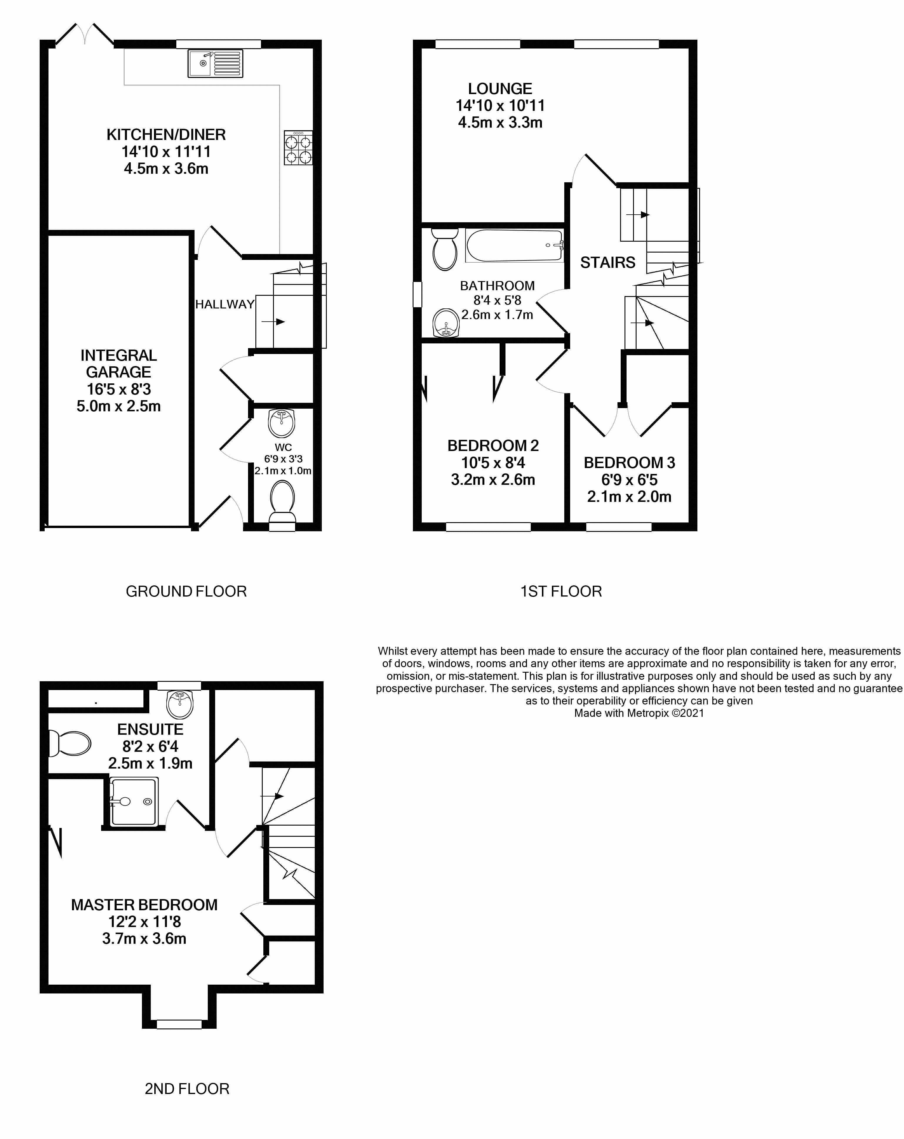 3 Milnes Way Floorplan