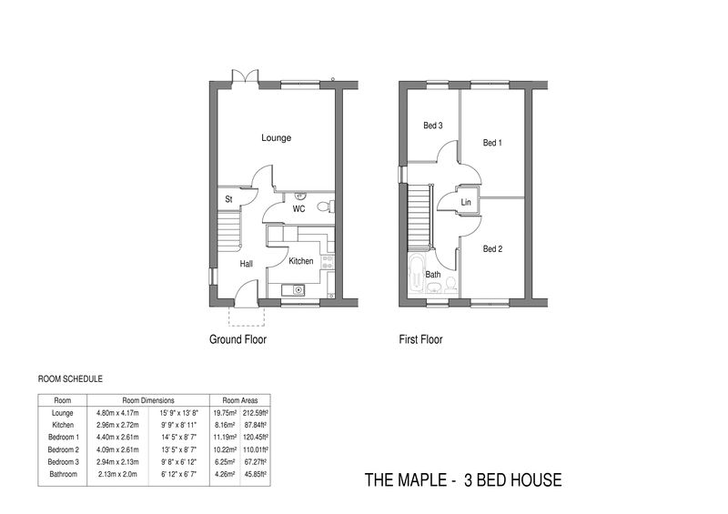 The Maple - 3 bed semi-detached