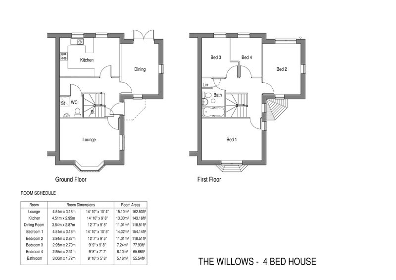 The Willows - 4 bed semi-detached