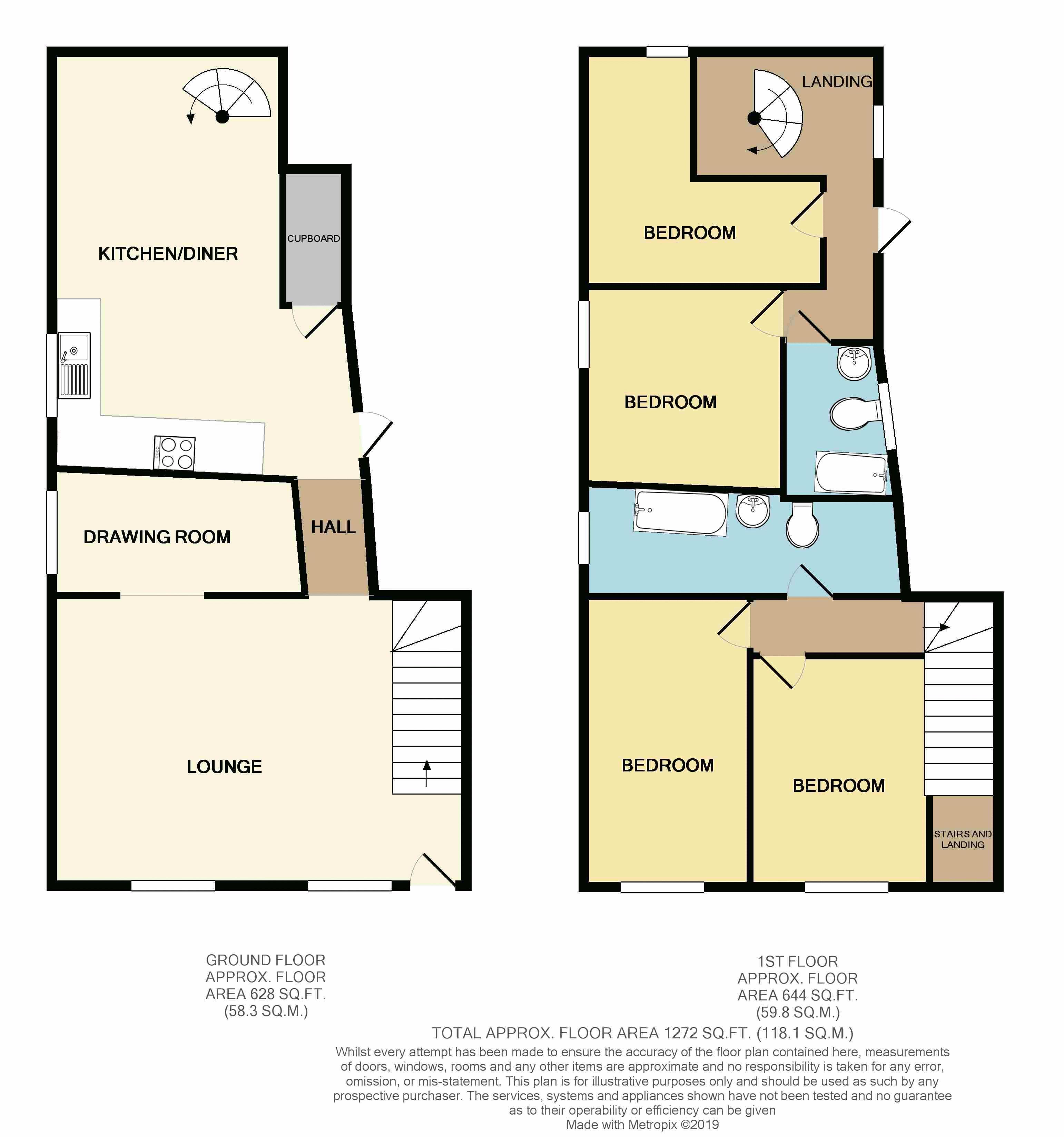 72 Church Street - Floor Plan