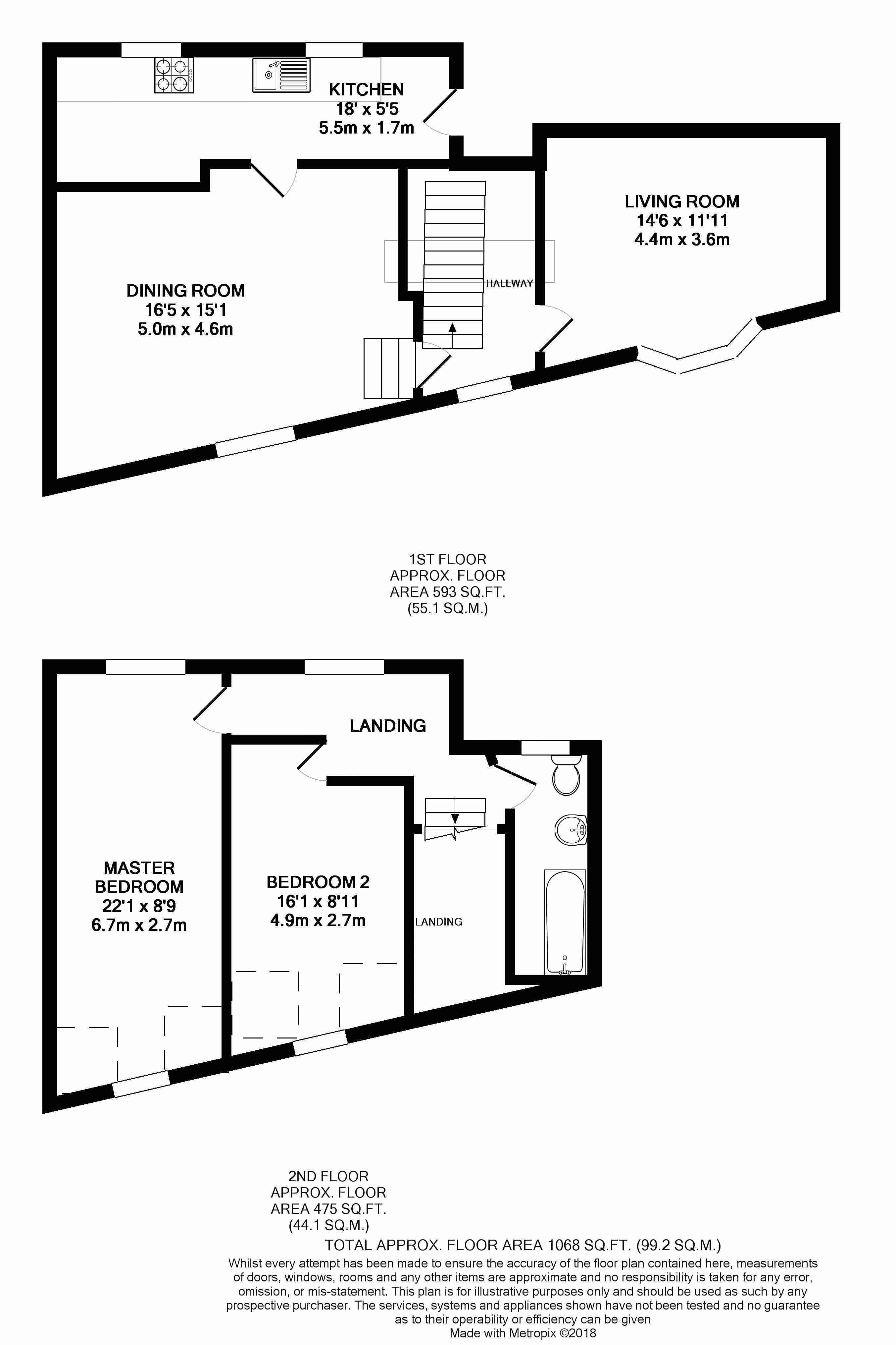 Flat 2 Floorplan