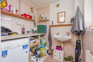 Utility former shower room