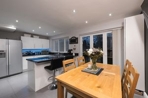 Dining area with Bi folding doors