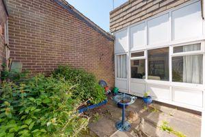 Private inner patio
