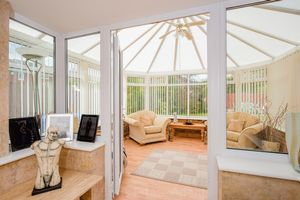View through to conservatory