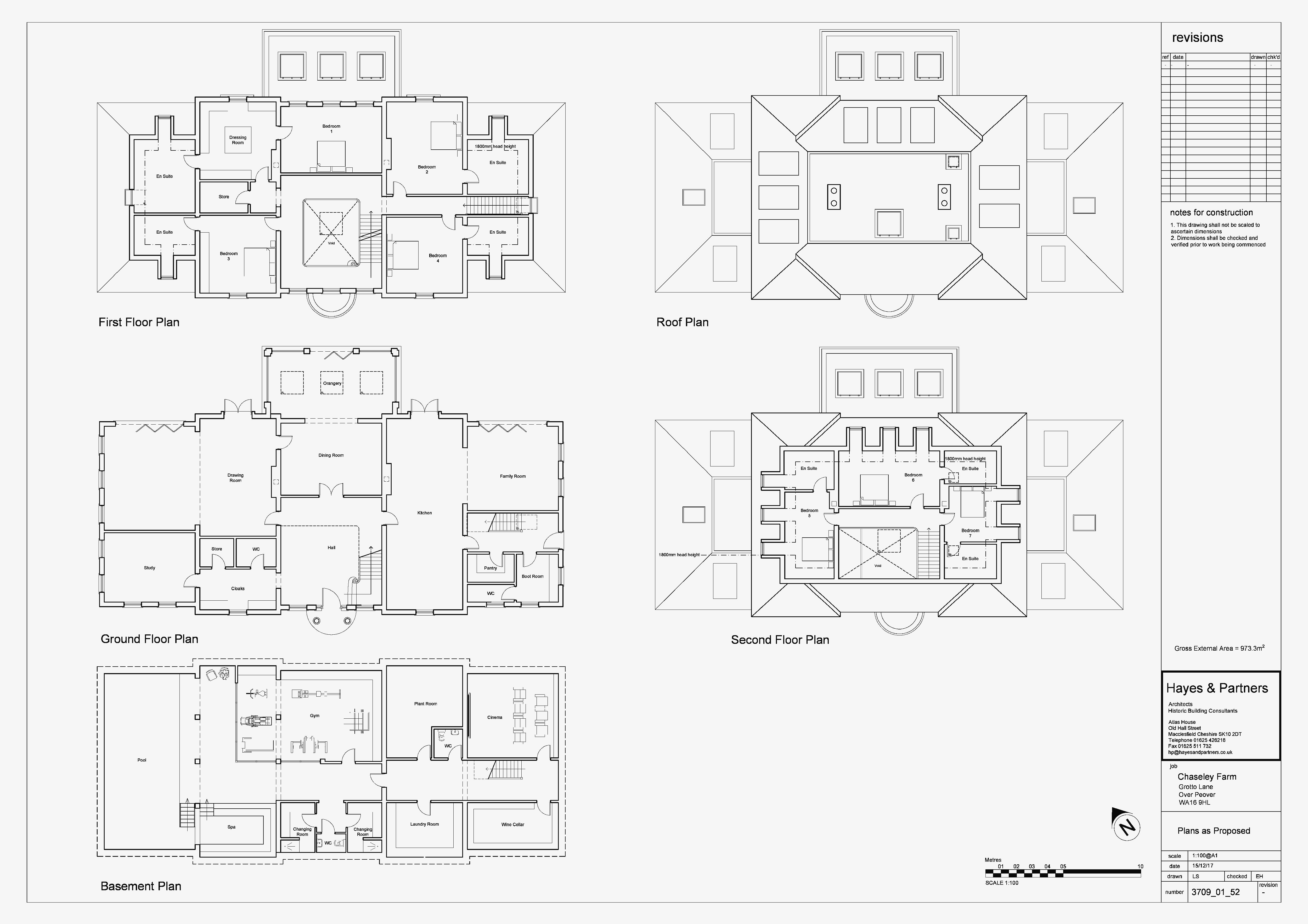 Approved new floorplans