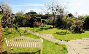 A partial view of the garden