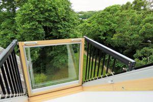 Velux style balcony