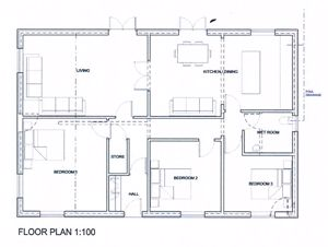 Floor Plan for Planned Conversion