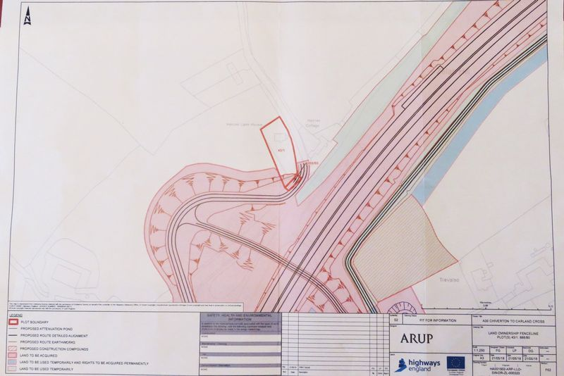 Proposed A30 Dual Carriageway