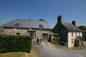 Farmhouse and Oak Barn