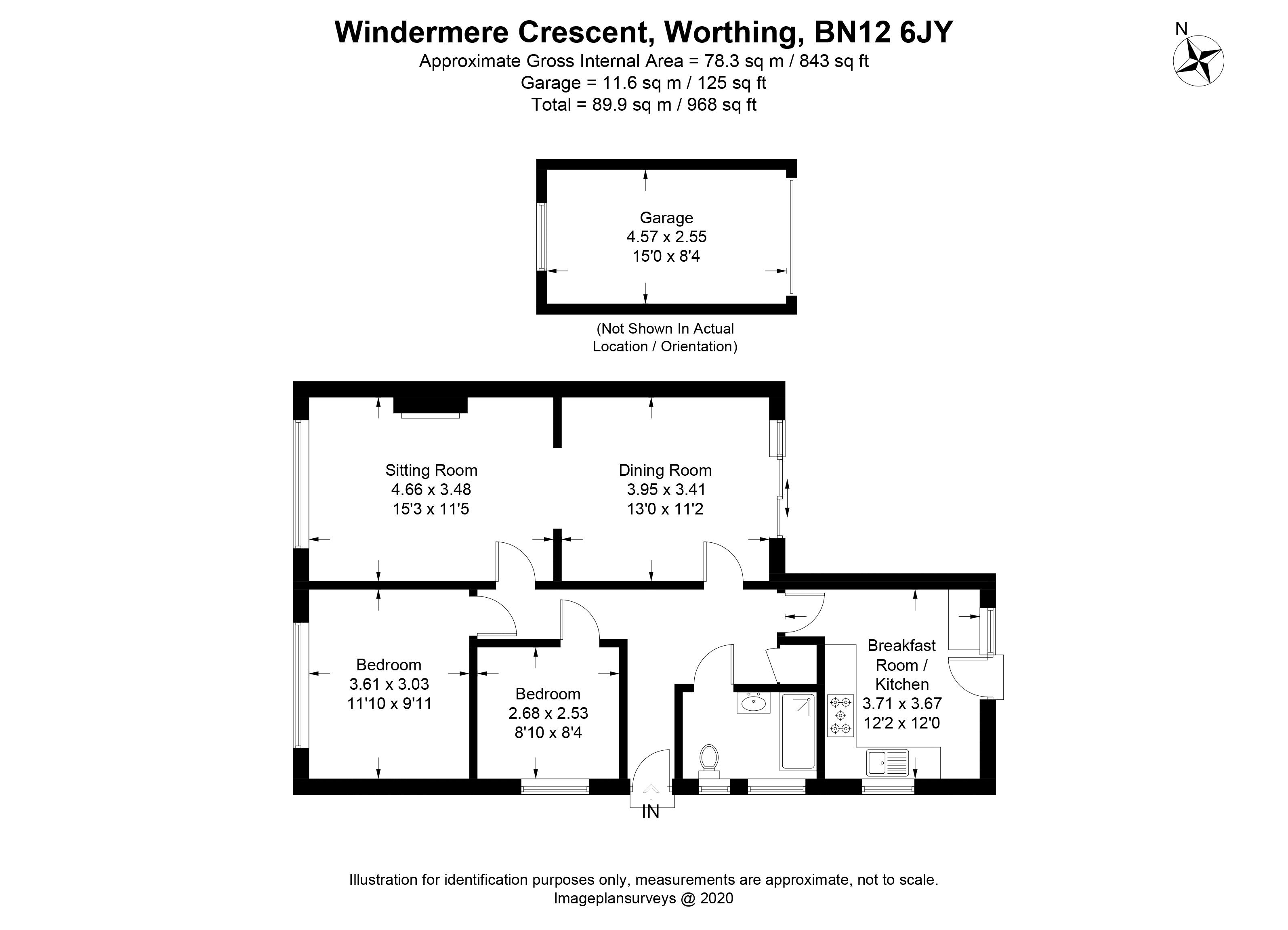 Windermere Crescent Goring-By-Sea