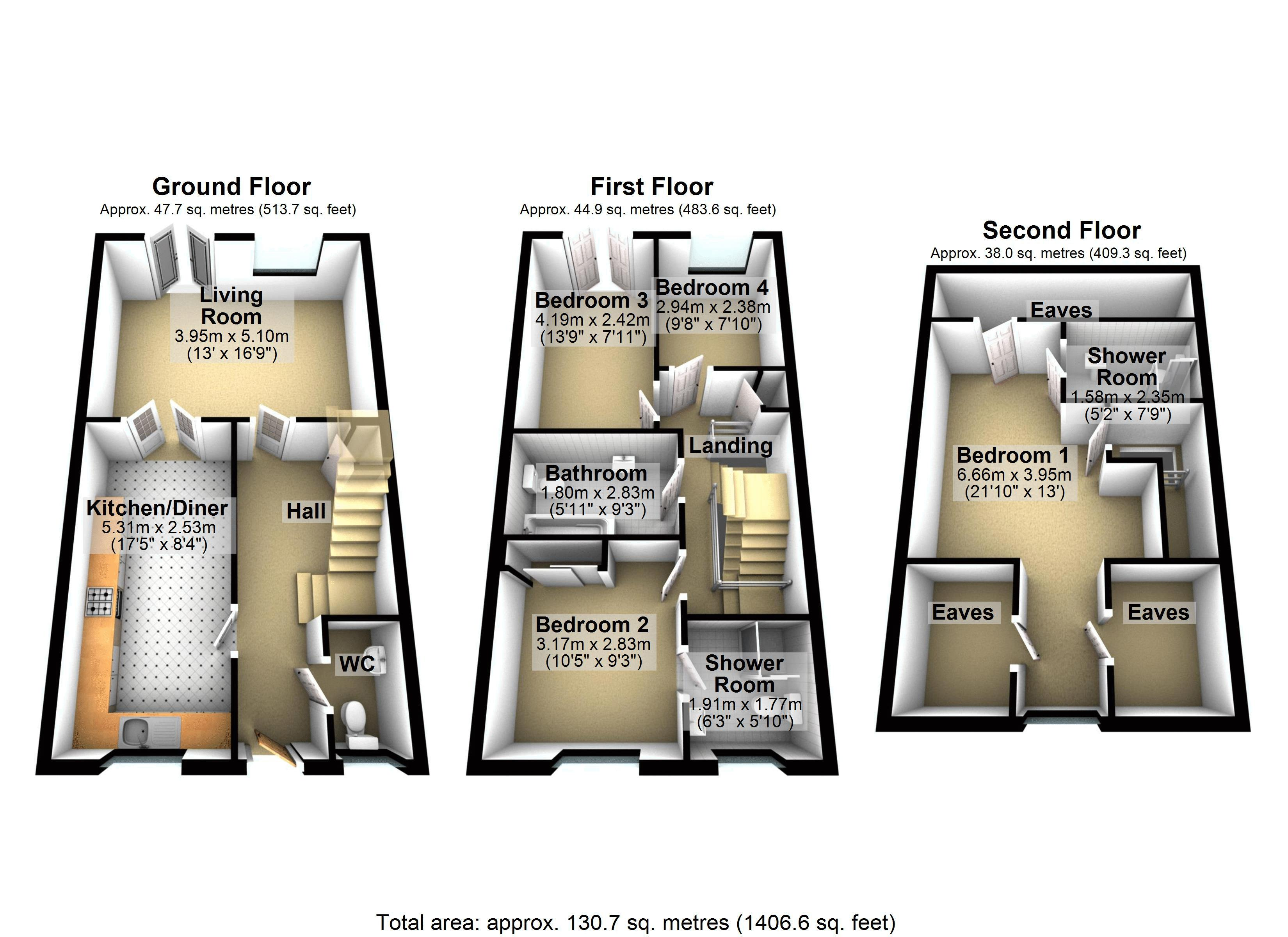 Lyttons 3d Floor Plan