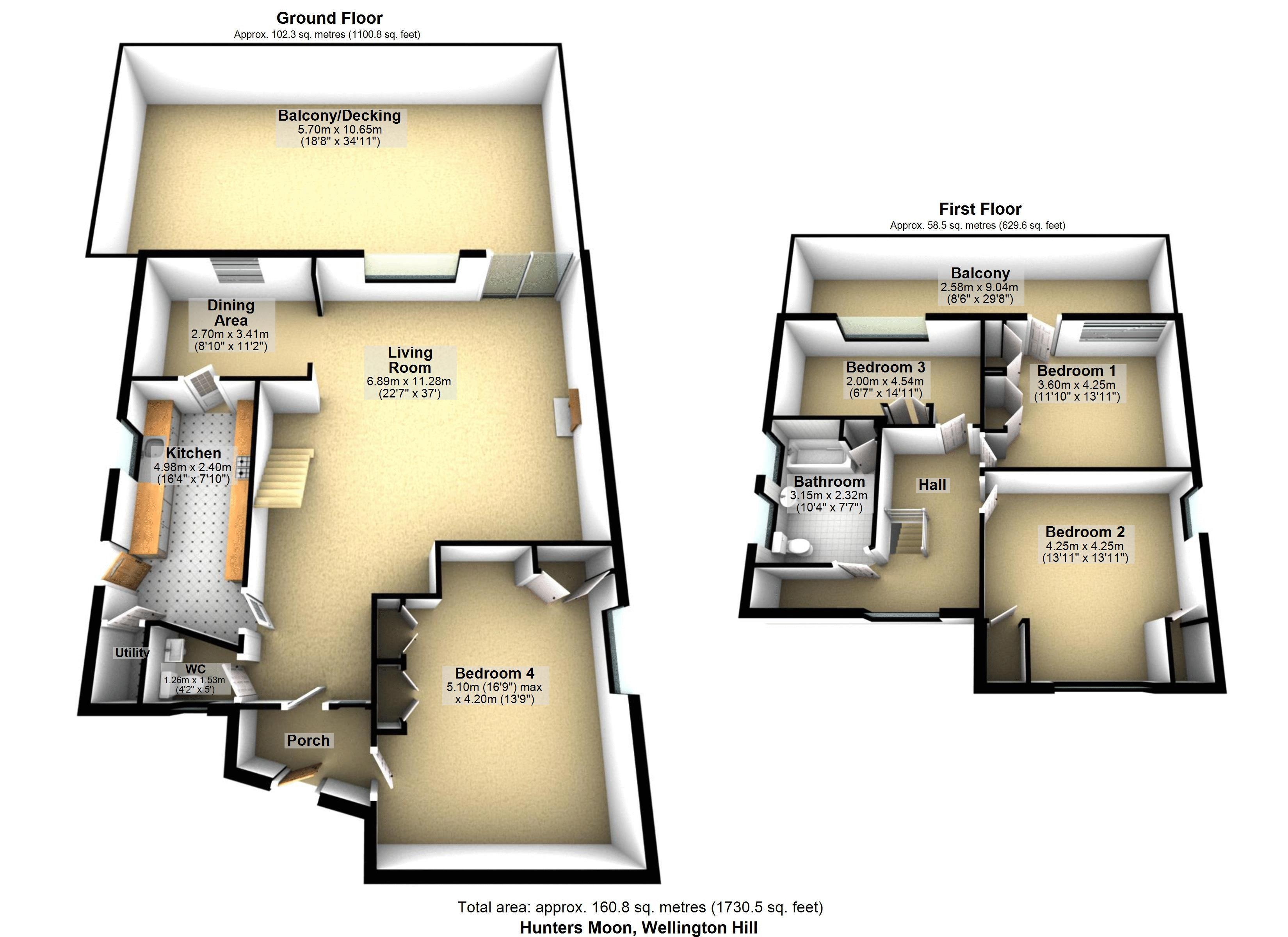 Lyttons 3D Floor Plan