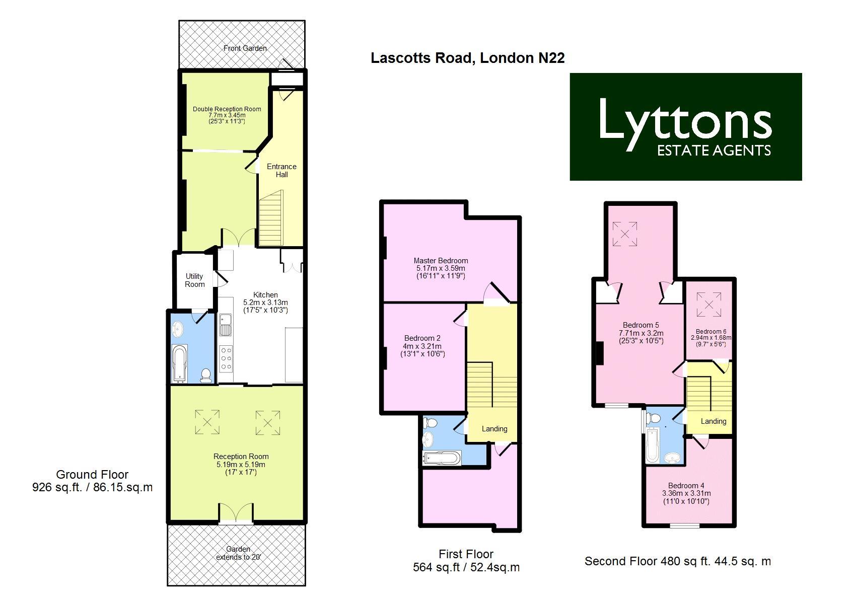 Lascotts Road N22 Floor Plan