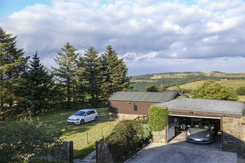 Garage, Stables & View