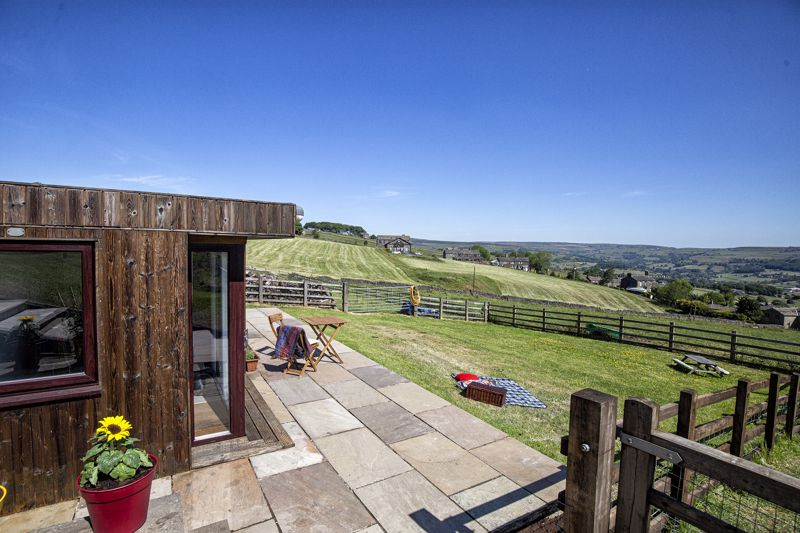 Outbuilding & view