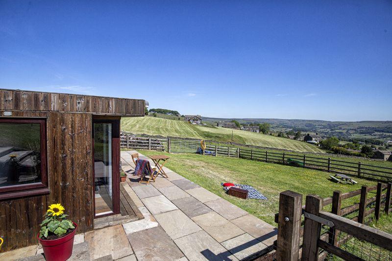 Farmhouse - Outbuilding & view