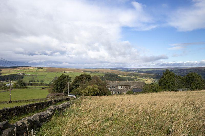 Top field, Farmhouse & View