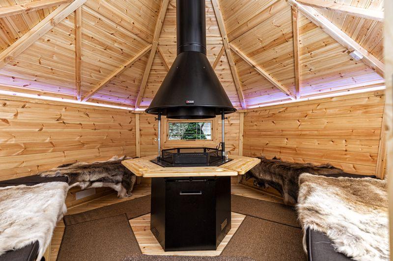 Arctic Hut interior