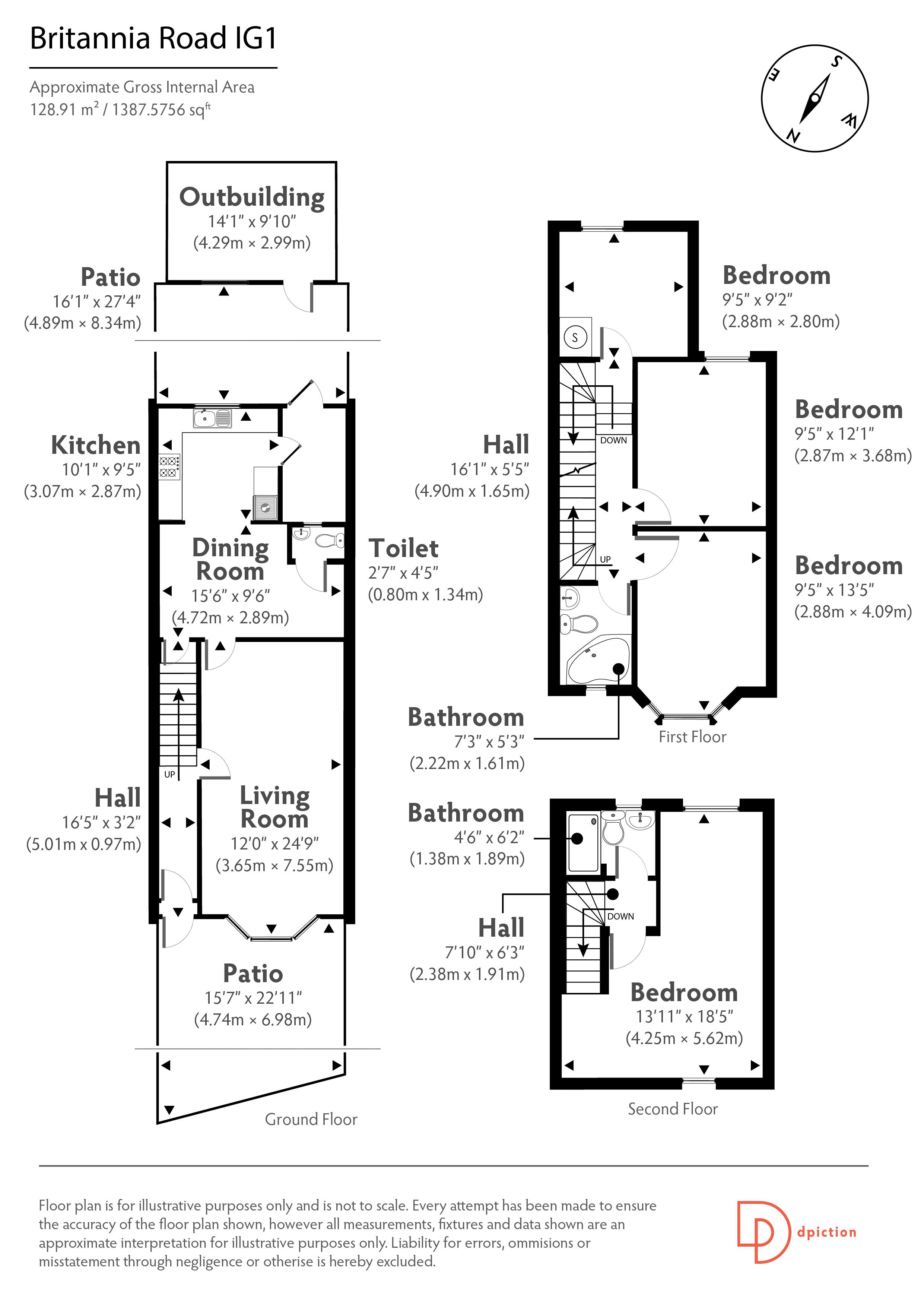Floor Plans - Edward Chase