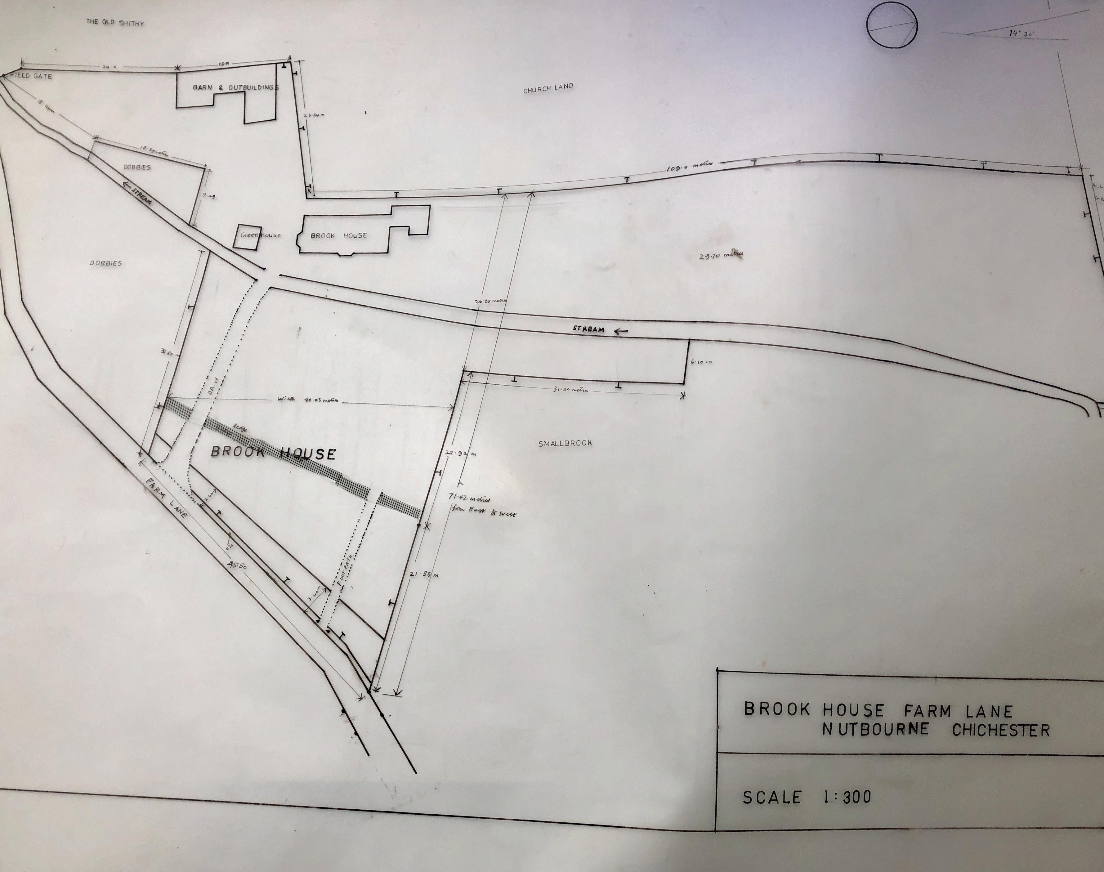 Site Plan Brrok Cottage
