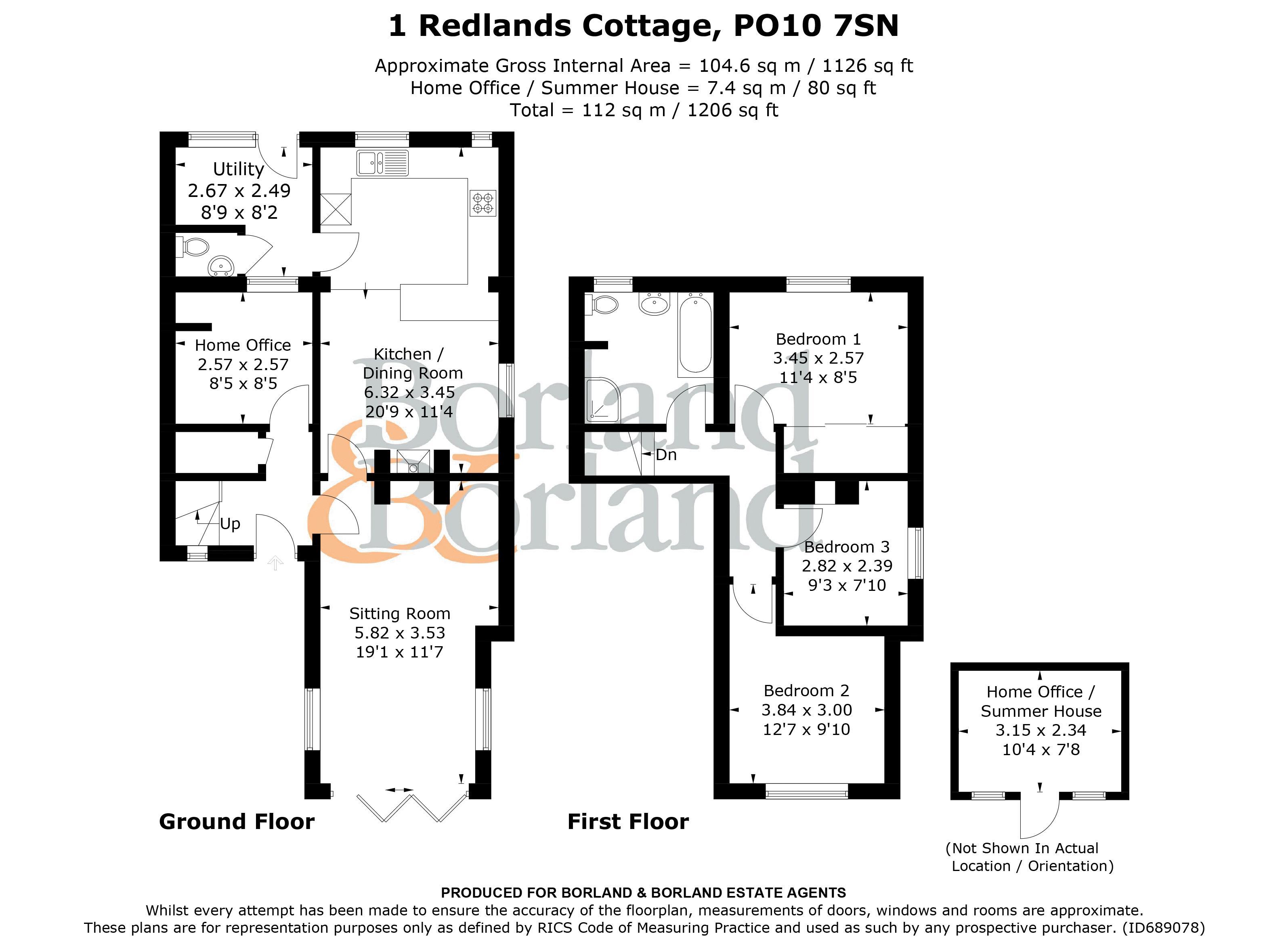 1 Redlands Cottages