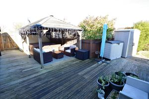 Garden deck