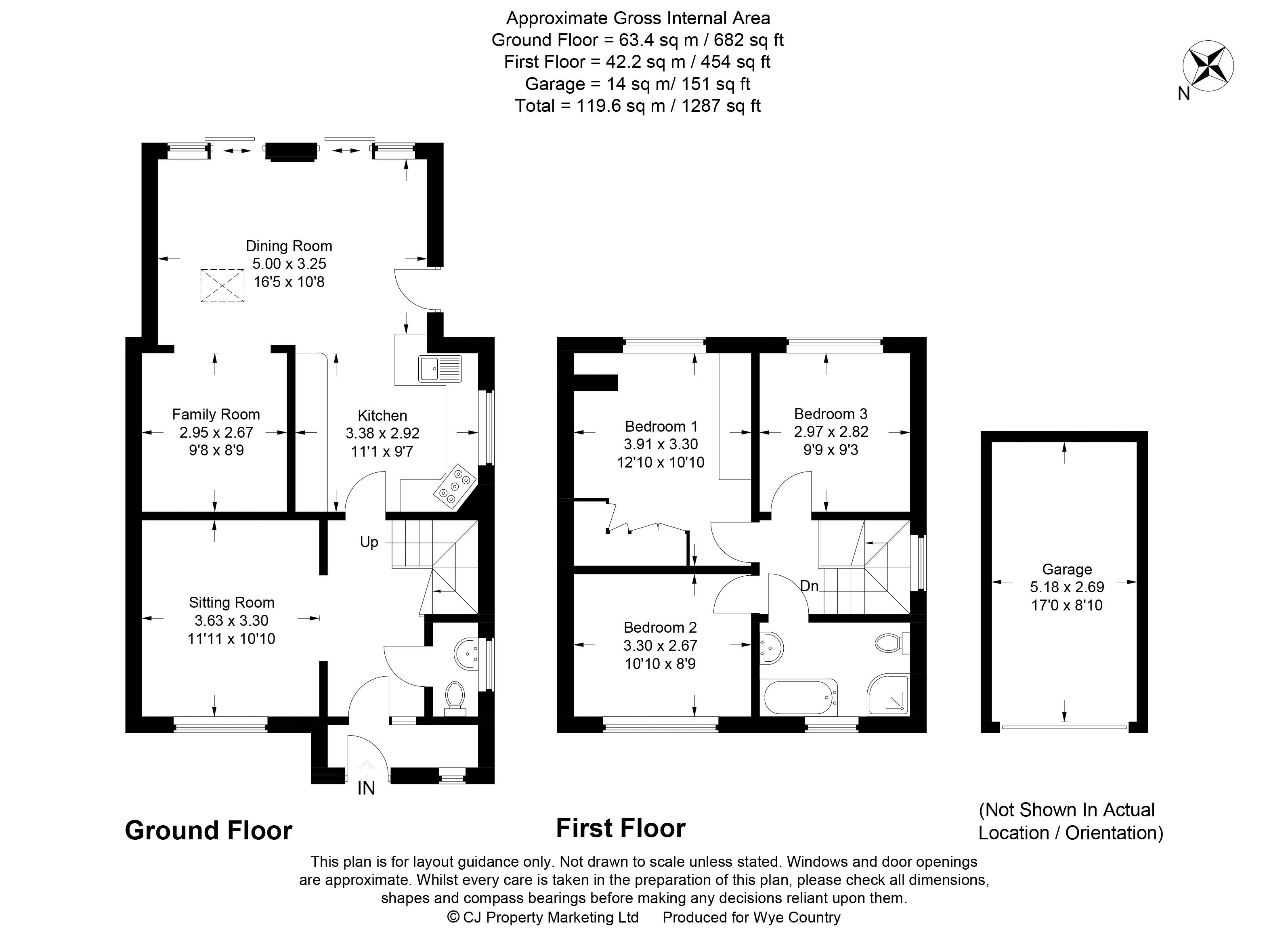 Floor plan Clare Road