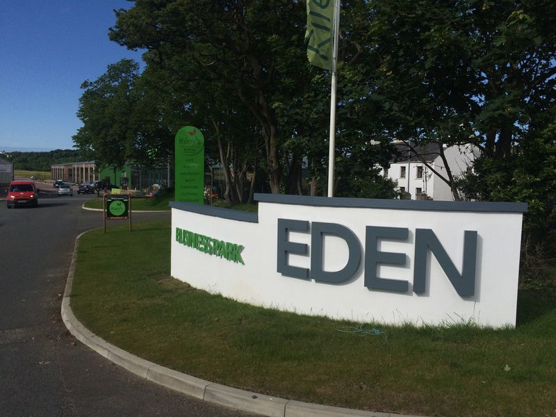 Eden Business Park Entrance