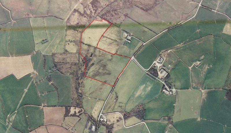 Approximately 19 acres on Staarvey Road Cronk Y Voddy, Kirk Michael