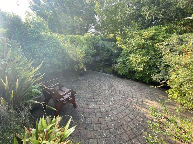 Rear Patio/Greenhouse
