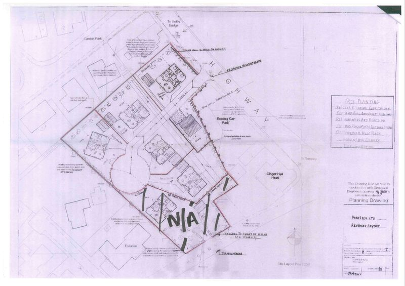 Ginger Hall development Plot