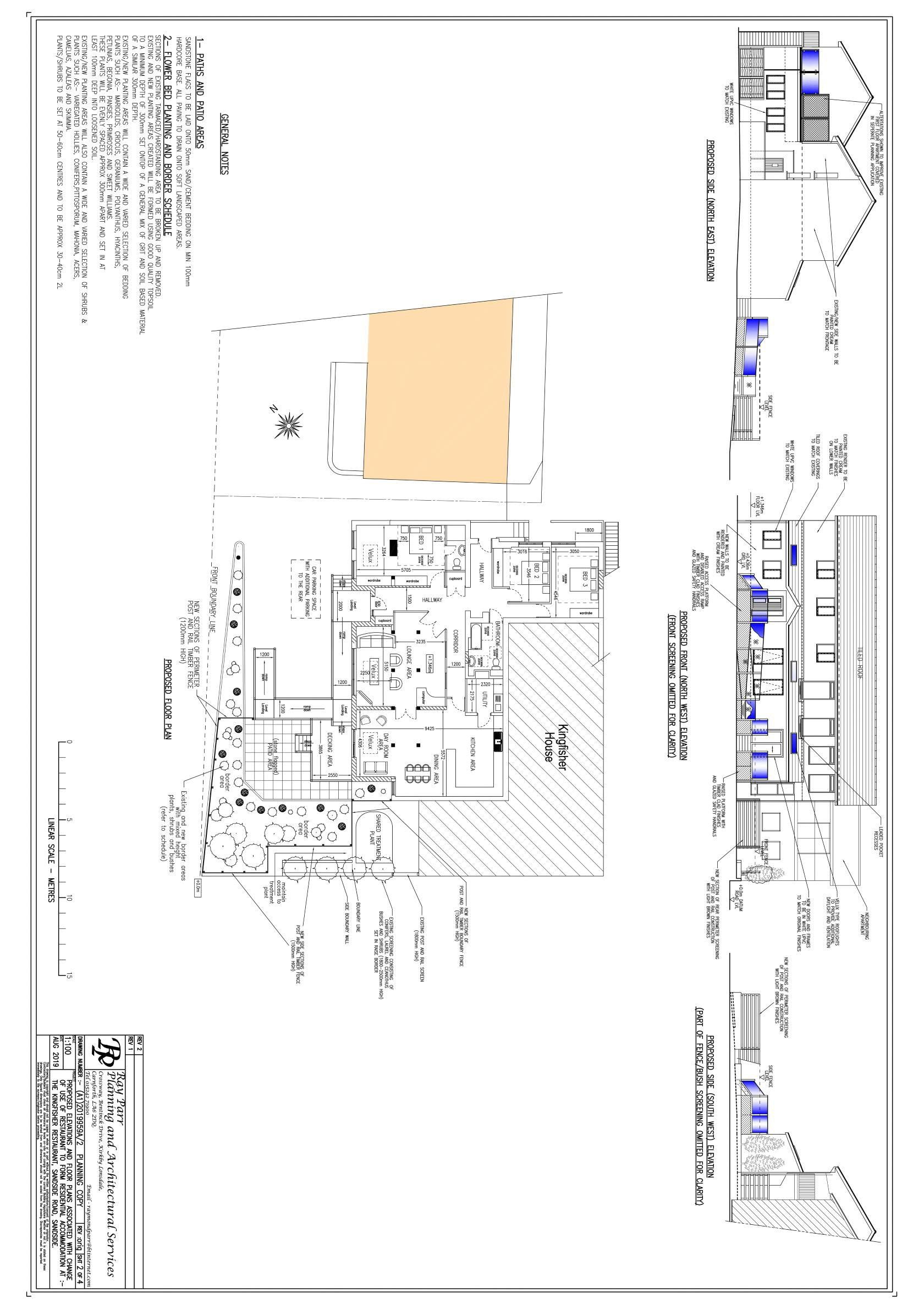 Proposed Restaurant Layout