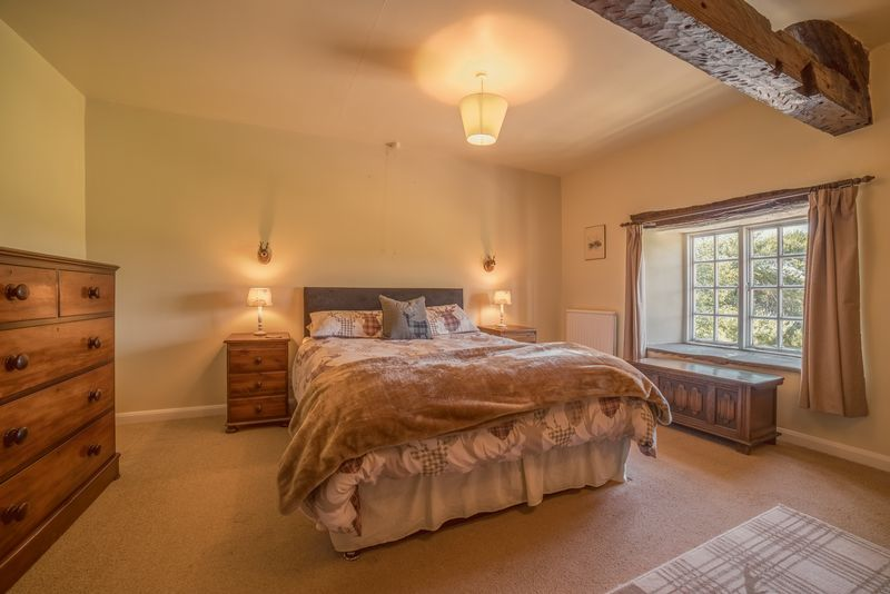 Old Farm House Master bedroom