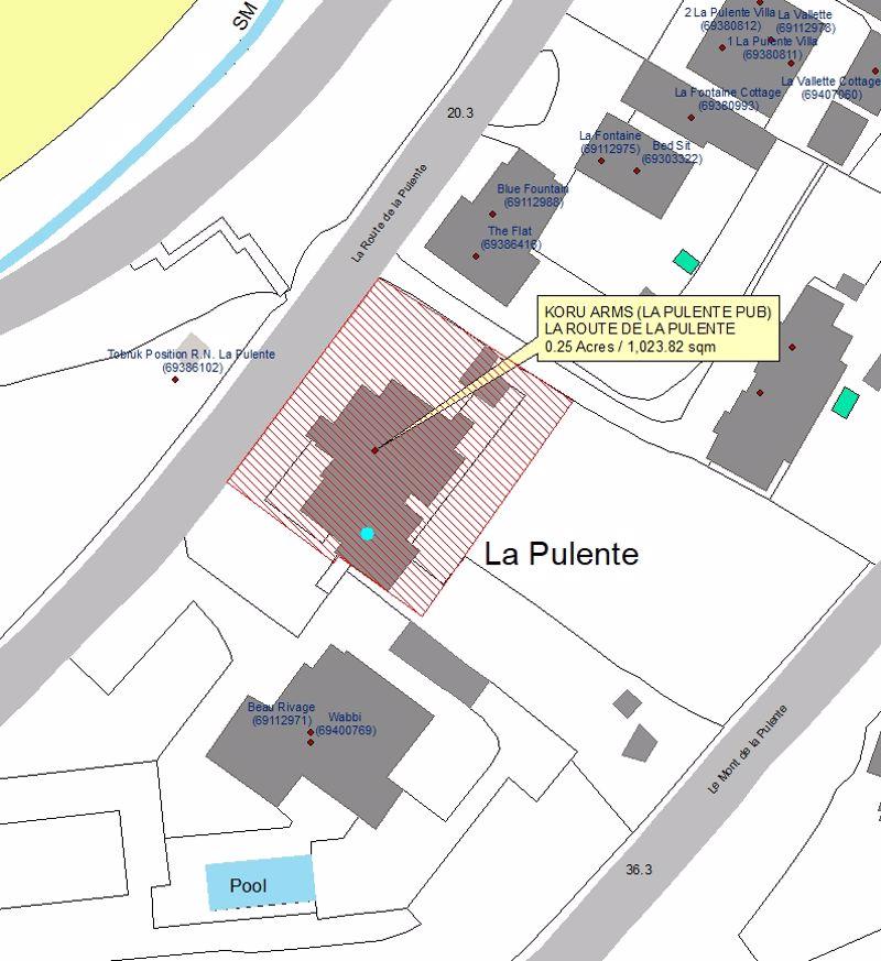 La Route De La Pulente St. Brelade