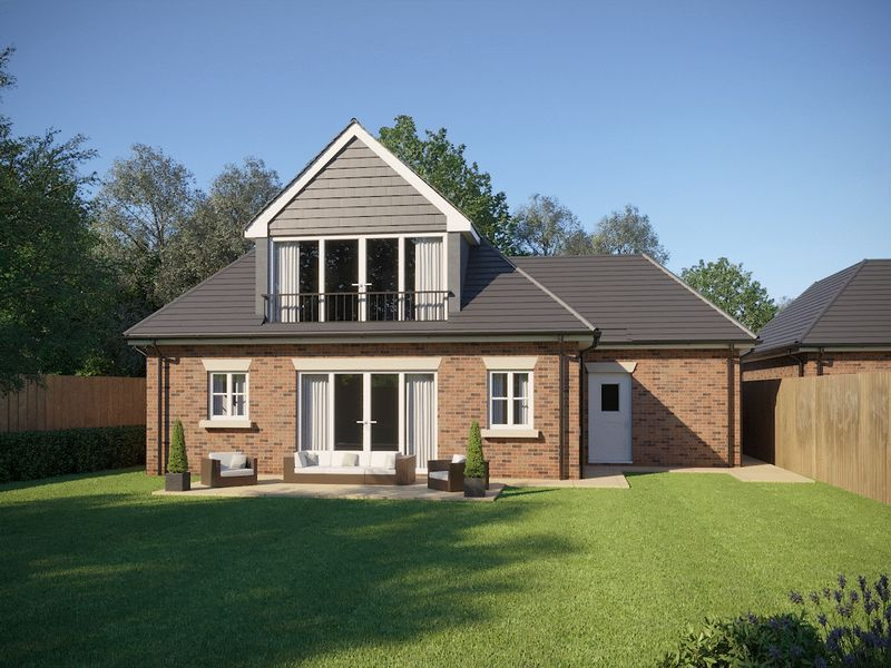 Rear of Plot 2 CGI